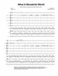 What A Wonderful World (for Brass Quintet)