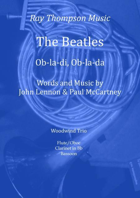 Beatles: Ob-la-di Ob-la-da - mixed woodwind trio