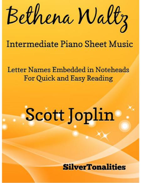 Bethena Waltz Intermediate Piano Sheet Music