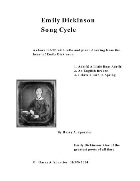 Emily Dickinson Song Cycle