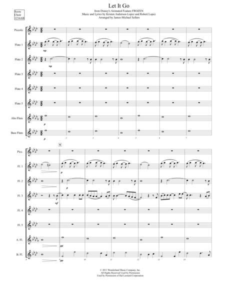 Let It Go (for Flute Choir)