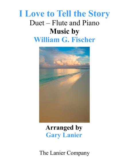 I LOVE TO TELL THE STORY (Duet – Flute & Piano with Parts)
