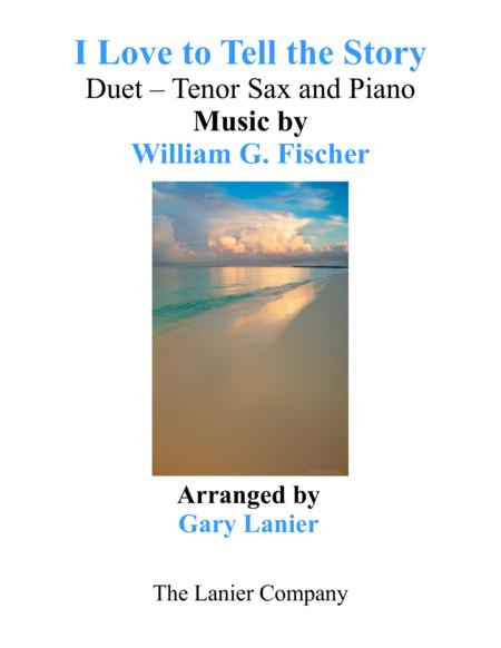 I LOVE TO TELL THE STORY (Duet – Tenor Sax & Piano with Parts)