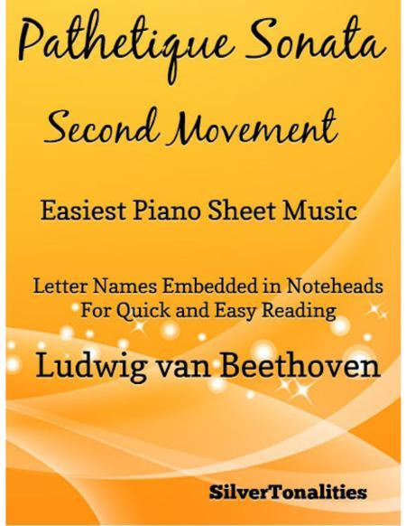 Pathetique Sonata Easiest Piano Sheet Music