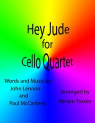 Hey Jude for Cello Quartet