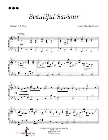 Download Beautiful Saviour Sheet Music By Lorie Line Sheet Music Plus