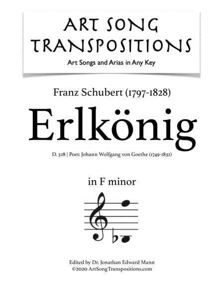 Erlkönig, D. 328 (F minor)