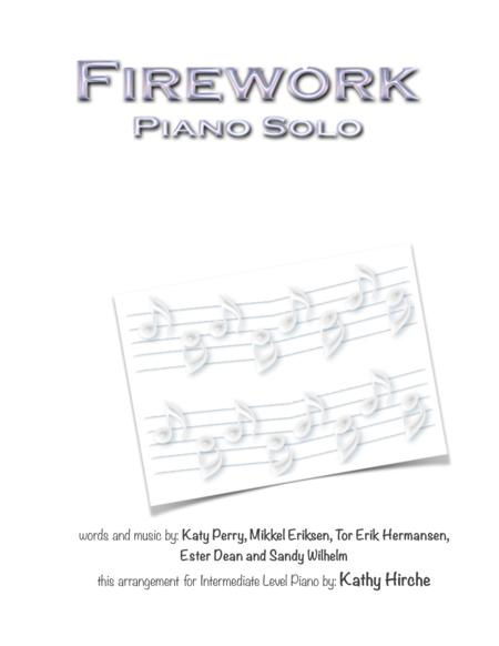 Download Firework Piano Solo Sheet Music By Katy Perry Sheet
