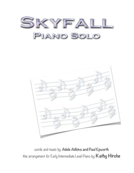 Download Skyfall - Piano Solo Sheet Music By Adele - Sheet Music Plus