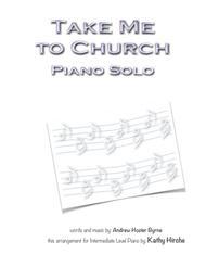 Take Me To Church - Piano Solo
