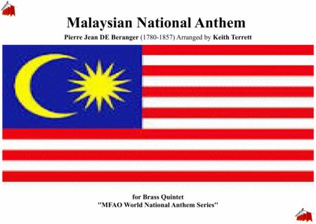 Malaysian National Anthem for Brass Quintet