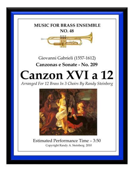 Canzon XVI a 12 - No. 209