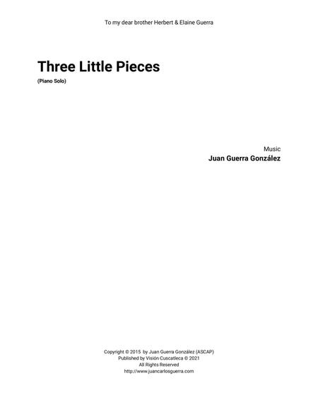 Three Little Pieces (for Piano solo)