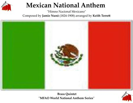 Mexican National Anthem for Brass Quintet