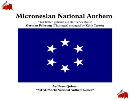Micronesian National Anthem for Brass Quintet