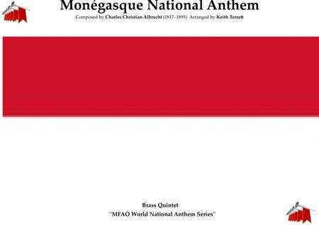 Monégasque (Monaco) National Anthem for Brass Quintet