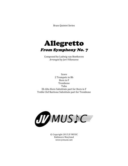 Allegretto from Symphony No. 7 By Beethoven