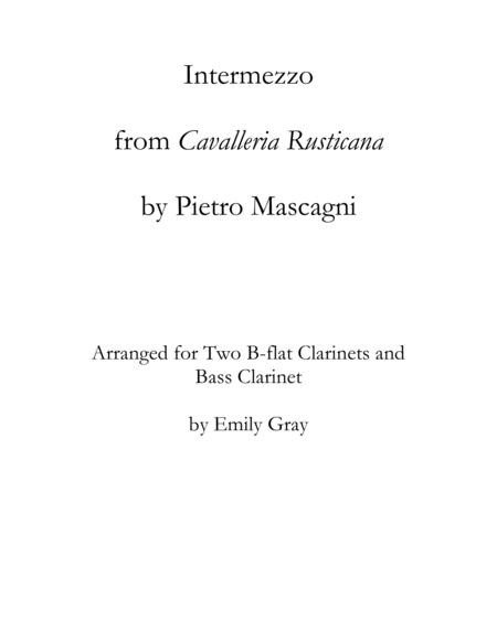 Intermezzo from