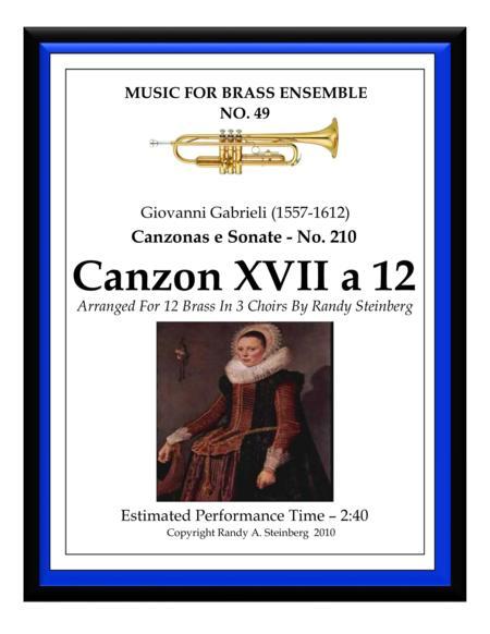 Canzon XVII a 12 - No. 210