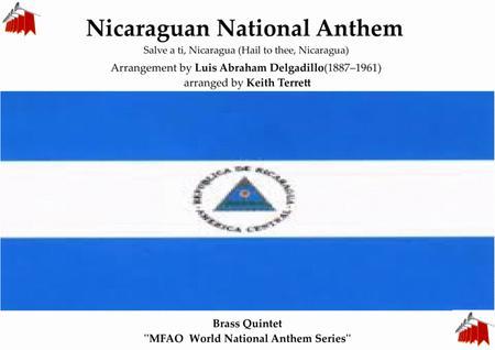 Nicaraguan National  Anthem for Brass Quintet