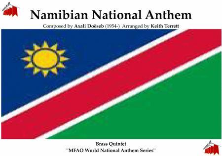 Namibian National  Anthem for Brass Quintet