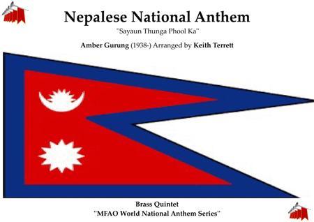 Nepalese National  Anthem for Brass Quintet