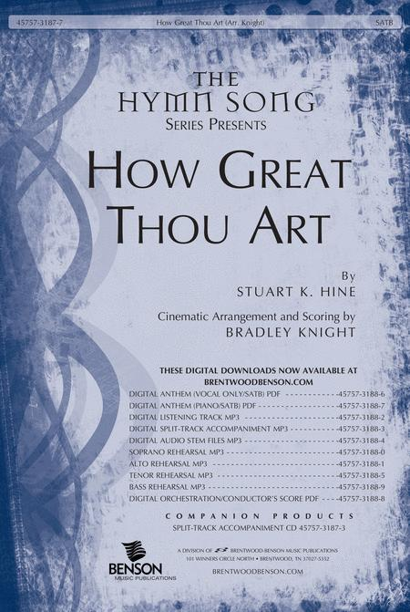 how great thou art sheet music pdf