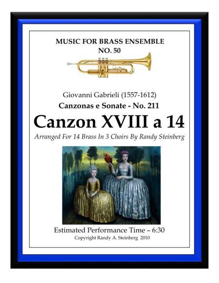 Canzon XVIII a 14 - No. 211