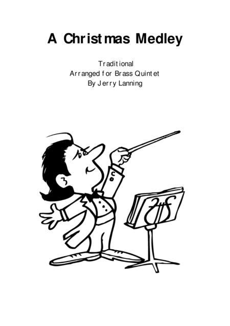 A Christmas Medley for Brass Quintet