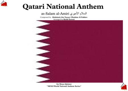 Qatari National Anthem as-Salam al-Amiri السلام الأميري‎ for Brass Quintet