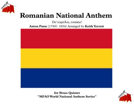 Romanian National Anthem  Deșteaptă-te, române! for Brass Quintet