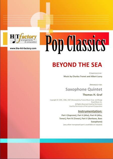 Beyond The Sea - Robby Williams ( Bobby Darin)  - Saxophone Quintet