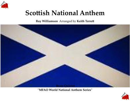 Scottish National Anthem for Brass Quintet