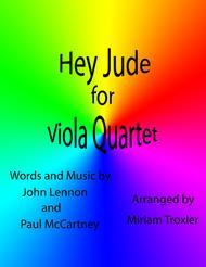 Hey Jude for Viola Quartet