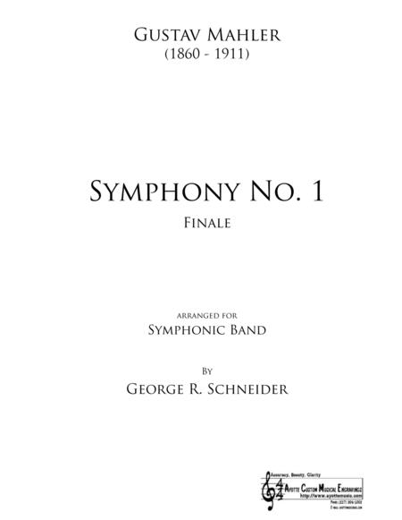 Mahler Symphony No. 1 (Finale) Transcribed for Concert Band