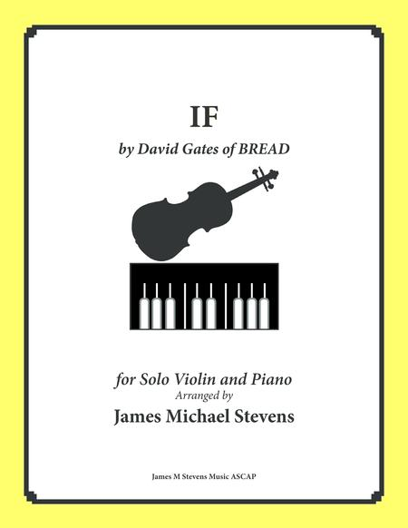 IF by BREAD - VIOLIN and Piano