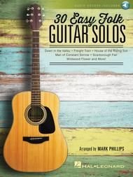 30 Easy Folk Guitar Solos