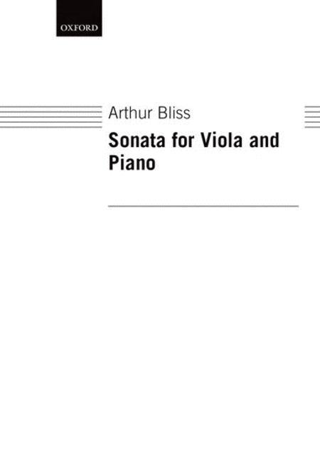 Sonata for Viola and Piano