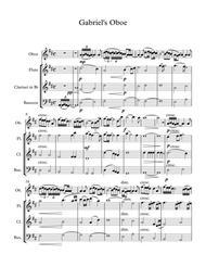 Download nella fantasia gabriel 39 s oboe wind quartet sheet for Nella fantasia il divo