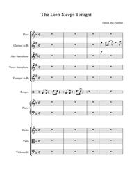 The lion sleeps tonight from the 'Lion King' (chamber orchestra)
