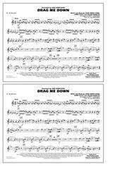 Download Drag Me Down - Eb Alto Sax Sheet Music By Jamie Scott