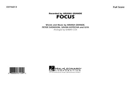 Focus - Conductor Score (Full Score)
