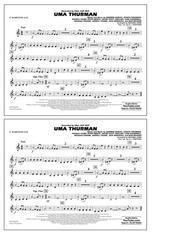 Download Uma Thurman - Eb Baritone Sax Sheet Music By K J  Stafford