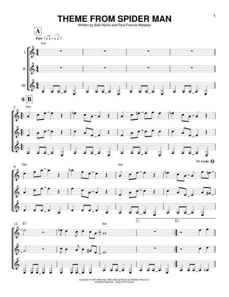 Theme From Spider-Man