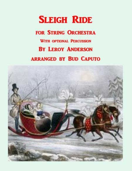 Sleigh Ride for String Orchestra
