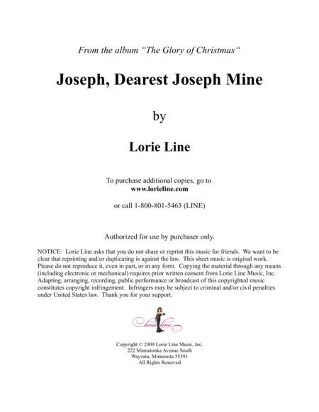 Joseph, Dearest Joseph Mine