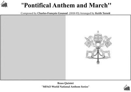 Vatican State National Anthem for Brass Quintet