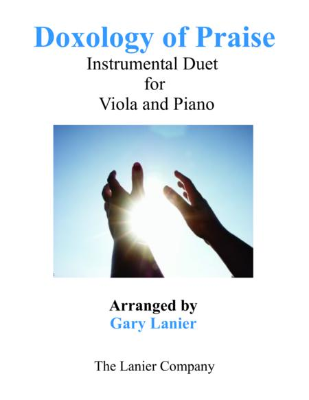 DOXOLOGY of PRAISE (Duet – Viola & Piano with Parts)