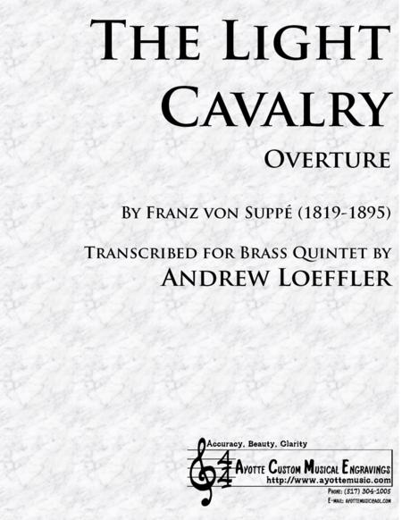 Light Cavalry Overture, transcribed for Brass Quintet