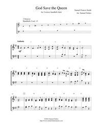 God Save the Queen - for 2-octave handbell choir